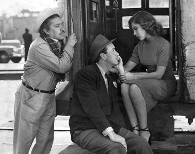 Fernando Soto, Carlos Navarro and Lilia Prado in 'Illusion Travels By Streetcar.'  credit: es.palabras.jp