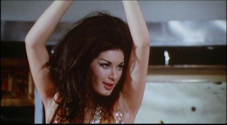 Edwige Fenech in '5 Dolls For An August Moon.'  credit: daysarenumbers.com