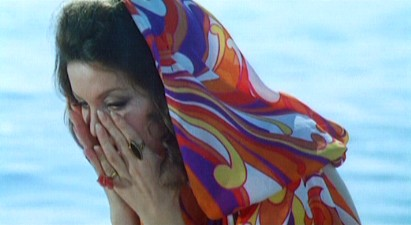 Edith Meloni in '5 Dolls For An August Moon.'  credit:mariobava.tripod.com