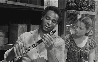 Bernie Hamilton and Key Meersman in 'The Young One.' credit: www.filmforno.com