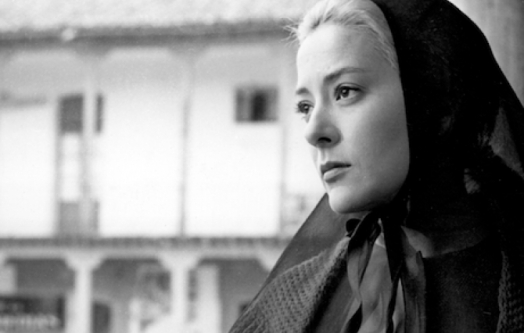 Silvia Pinal in 'Viridiana.'  credit: bfi.org.uk