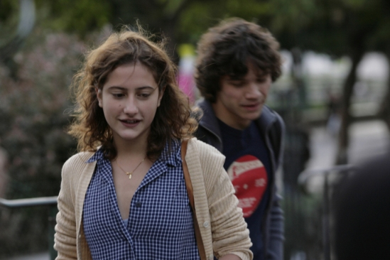 Lola Créton and Sebastian Urzendowsky in 'Goodbye First Love.'  credit: unifrance.org