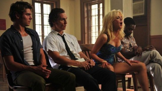 Zac Efron , Matthew McConaughey, Nicole Kidman and David Oyelowo in 'The Paperboy.'  credit: sbs.com.au