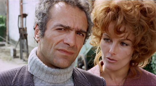 Oliviero (Luigi Pistilli) and Irene (Anita Strindberg) in 'Your Vice Is A Locked Room...'  credit: chillingscenesofdreadfulvillainy.blogspot.fr