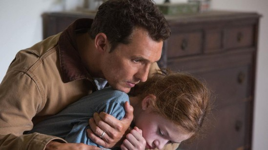 "Matthew McConaughey and Mackenzie Foy in 'Interstellar.""  credit: Melinda Sue Gordon / Paramount"