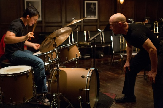 Miles Teller and J.K. Simmons in 'Whiplash.'  credit: Daniel McFadden / Sony Pictures Classics