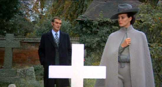 Stanley Baker and Florinda Bolkan in 'Lizard In A Woman's Skin.'   credit: horrorpedia.com