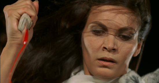 Florinda Bolkan in 'Lizard In A Woman's Skin.'   credit: chillingscenesofdreadfulvillainy.blogspot.com