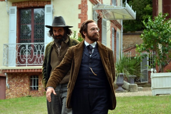 Guillaume Gallienne as Paul  Cézanne and Guillaume Canet as Émile Zola in